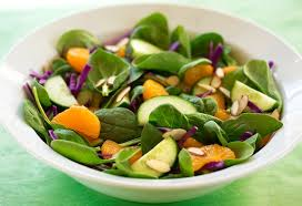 spinach orange and cabbage salad