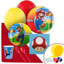 mario invitations amazon com super mario bros party supplies value party pack