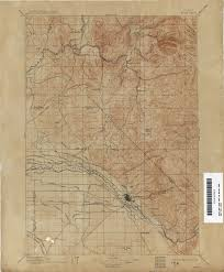Map Of Idaho State by