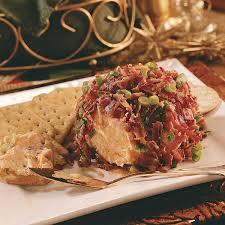 thanksgiving bacon chutney bacon cheese ball recipe taste of home