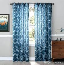 Navy Blue Sheer Curtains Blue Sheer Curtains Teawing Co