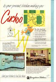 Kitchen Ads by Youngstown Kitchen 1957 Marketing Material And A Priceless Video