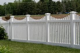 pvc or vinyl fences cardinal fence u0026 supply inc