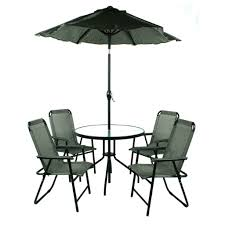Patio Set Umbrella Outdoor Cafe Table With Umbrella Leisure Chair Pinterest