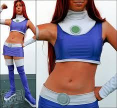 Teen Titans Halloween Costumes Teen Titans Cosplay Starfire Costume