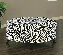 Animal Print Storage Ottoman Print Storage Boxes Zebra Print Storage Great Zebra Storage