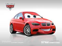 cars bmw red bwm m3 disney cars u0027bummer u0027 by yasiddesign on deviantart