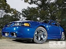 1999 Mustang Black Twin Turbo Mystichrome Svt Mustang Cobra Terminator Ford