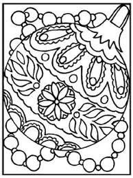 color your own ornaments printable coloring pages