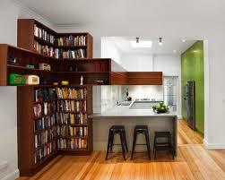 kitchen bookshelf houzz