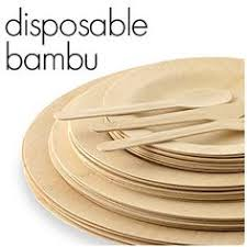 bamboo disposable plates bamboo disposable plates bohemian wedding