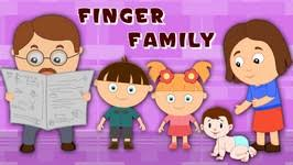 new finger family nursery rhyme thumb children song with