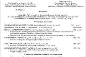 Comprehensive Resume Sample For Nurses by Resume Sample Nurse Practitioner