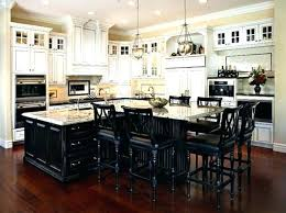 Kitchen Island With Table Seating Small Kitchen Island With Seating A Bar Height Dining Table