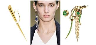 one earring when only one will do single earring trend jewels du jour
