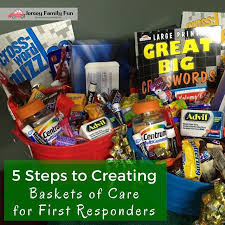 local gift baskets 5 steps to creating baskets of care for responders part of