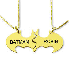 Customized Name Necklace Aliexpress Com Buy Hand Stamped Batman Name Necklace Gold Color