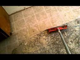 best way to remove linoleum flooring concrete