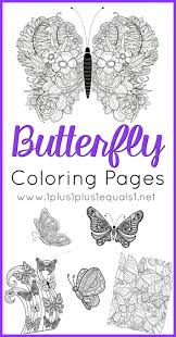 butterfly coloring pages 1 1 1 u003d1