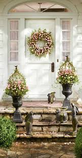 Easter Decorating Ideas For Doors by 38 Best Wreaths Images On Pinterest Christmas Ideas Easter