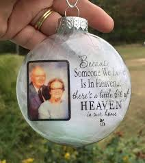 personalized remembrance ornaments personalized christmas ornaments photo christmas ornament memorial