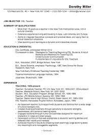 casino porter sample resume sample resume esl teacher chronological format elementary