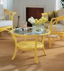 verre pour veranda table basse rotin meubles rotin haut de gamme pour salon et véranda