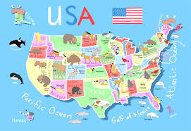 map usa all states united states map with the states best photos of usa map ppt