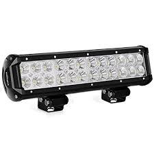 6 foot led light bar amazon com led light bar nilight 12 inch 72w led work light spot