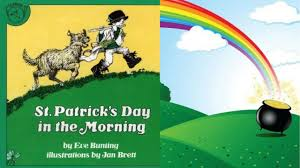 st patrick u0027s day in the morning book by eve bunting stories for