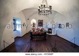 Bran Castle Interior Fireplace In Bran Castle Bran Near Brasov Transylvania Romania