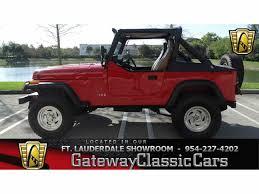 jeep wrangler 4 door maroon 1989 jeep wrangler for sale classiccars com cc 952484