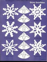 paper snowflakes cutting patterns paper