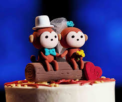 monkey cake topper wedding cake toppers 7 and unique exles inside weddings