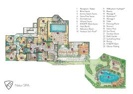 Massage Spa Floor Plans by Nature Spa