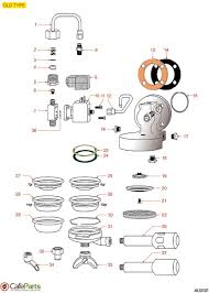 brugnetti brew group old type cafeparts com