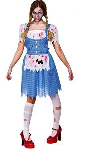 Party Costumes Halloween Wick5090 Zombie Dorothy Costume Halloween