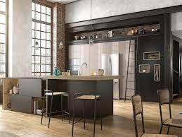 cuisine et bois cuisine noir mat et bois 10 mettez du noir dans la cuisine joli