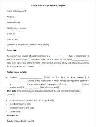 Manufacturing Manager Resume Samples by 18 Manufacturing Supervisor Resume Samples Professional