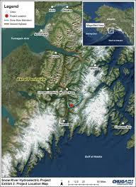 Kenai Alaska Map by Alaska Journal Snow River Hydropower Concept Meets Immediate