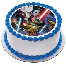 wars edible image wars rebel edible icing image cake topper