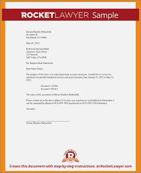 Request Letter Of Bank Statement bank statement request letter format sle speakeasymedia co
