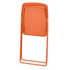 Ikea Folding Chairs by Nisse Folding Chair Orange Ikea