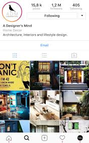 Home Interior Design Instagram How U0027a Designer U0027s Mind U0027 Grew Up To 1 2 Million Design Lovers On
