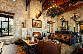 Awesome Western Living Room Decors Home Design Lover - Spanish living room design