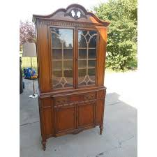 Bernhardt Bar Cabinet Vintage Bernhardt China Cabinet Chairish