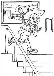 woody toy story coloring coloring pages toy