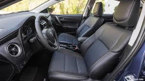 toyota corolla seats 2017 toyota corolla se blue crush metallic interior front