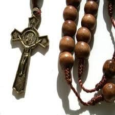 catholic rosary online original olive wood rosary with holy soil cross rosary prayer