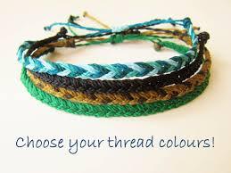 string bracelet men images Custom color mens friendship bracelet unisex waxed string jpg